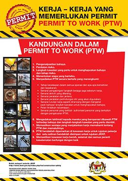Laman Web Rasmi Jabatan Keselamatan Dan Kesihatan Pekerjaan Malaysia Poster